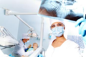 Der Zahnarzt Notdienst im Einsatz.